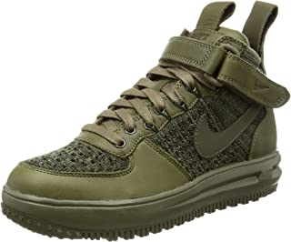 Nike Womens Lf1 Flyknit Workboot Hi Top Boots Trainers 860558 Sneakers
