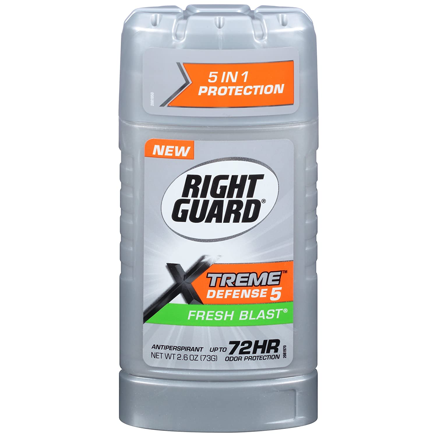trust Right Guard Xtreme Defense 5 2.6 Solid Fresh Ounce Selling Blast 76ml