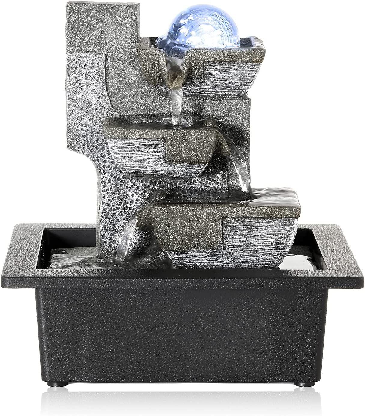 famous Dyna-Living Water Fountains Indoor Relaxation Desktop W Fountain New Orleans Mall