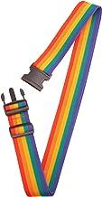 Lewis N. Clark Deluxe Luggage Belt Rainbow