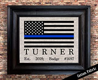 Police Officer Gifts   Personalized Gift for Policewoman   Gift for Policeman   Retired Police Officer Gift   State Police Gift