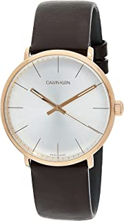 Calvin Klein High Noon K8M216G6 Leather Analog Casual Watch for Men