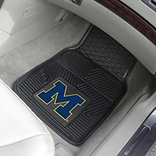FANMATS University of Michigan 2-pc Vinyl Car Mat Set