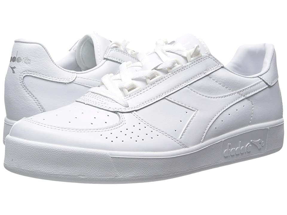 Diadora B. Elite (White Optical/White Pristine) Men's Shoes