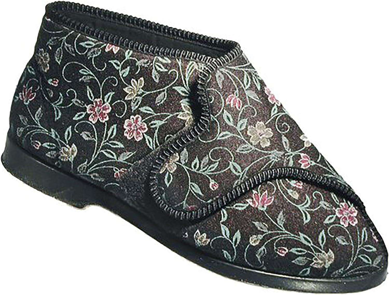 GBS Bella Ladies Wide Fit Slipper Womens Slippers