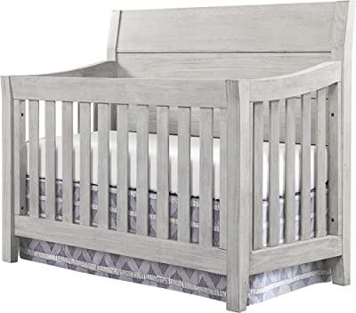Westwood Design Timber Ridge 4 in 1 Convertible Crib, Weather Washed Sierra