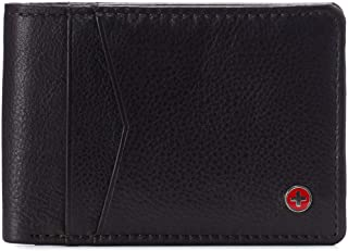 Alpine Swiss Men's Delaney Slimfold Wallet RFID Safe York Collection
