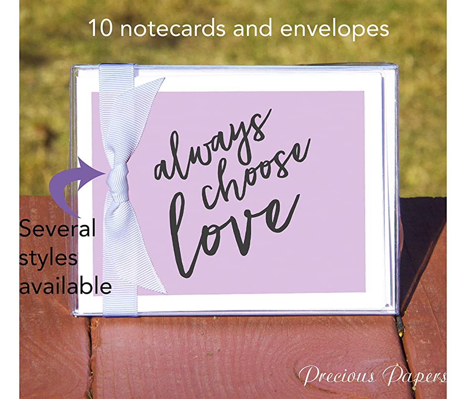 Personalized notecards or stationery by paparte in your choice of color and style perfect kids gift or teen gift