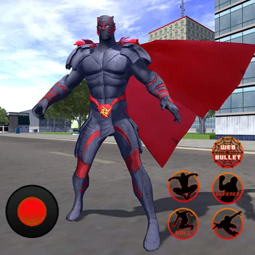 Flying Panther Crime City Spider Hero