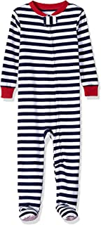 Amazon Essentials Kids' Baby and Toddler Zip-Front Footed Sleeper