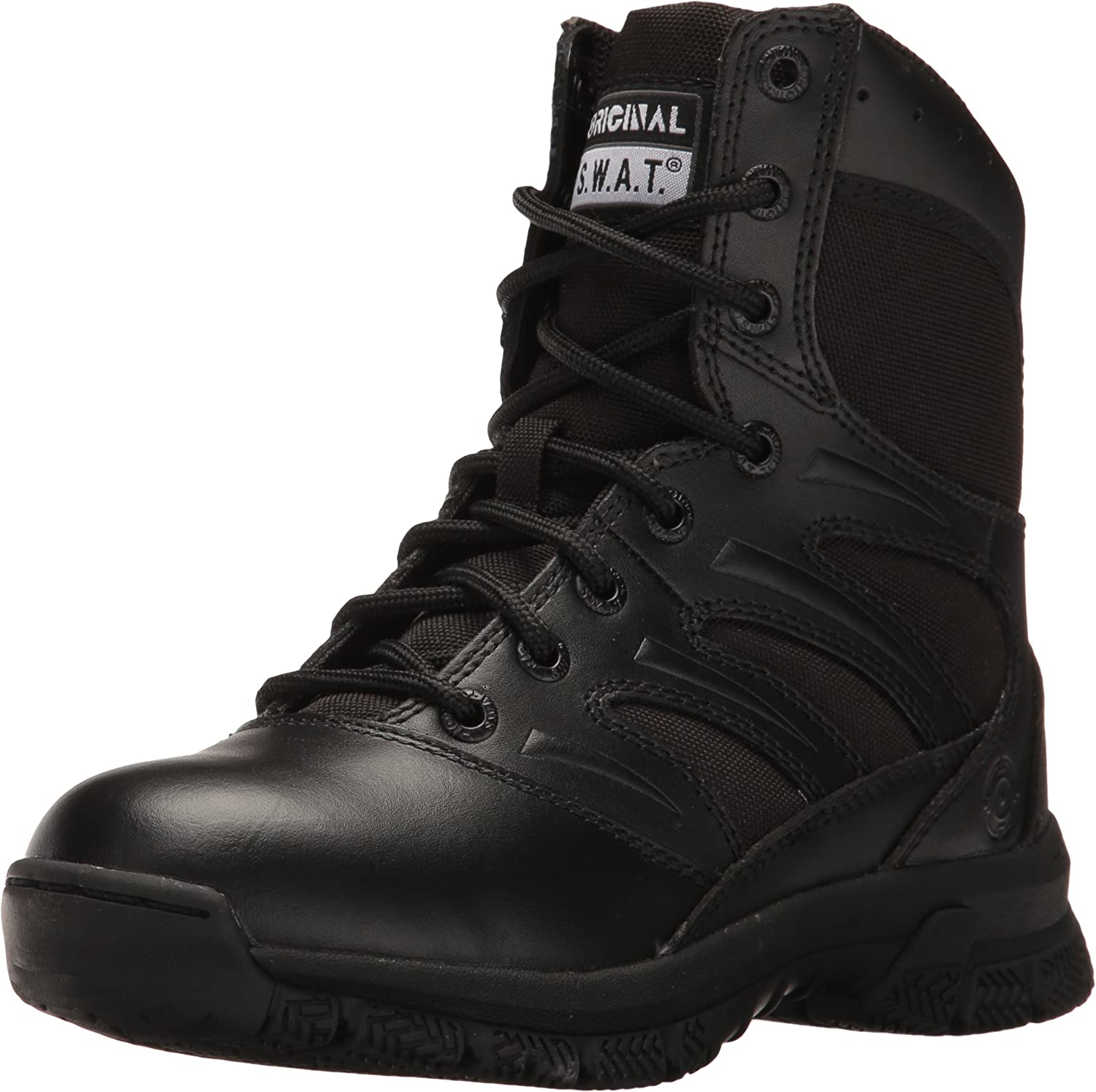Original S.W.A.T. Men's Force 8  Side Zip Military and Tactical Boot