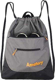 Drawstring Backpack Sports Athletic Gym String Bag Cinch Sack Gymsack Sackpack