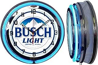 Best busch light clock Reviews