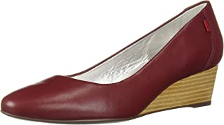 MARC JOSEPH NEW YORK Womens Leather Made in Brazil Cooper Wedge Pump