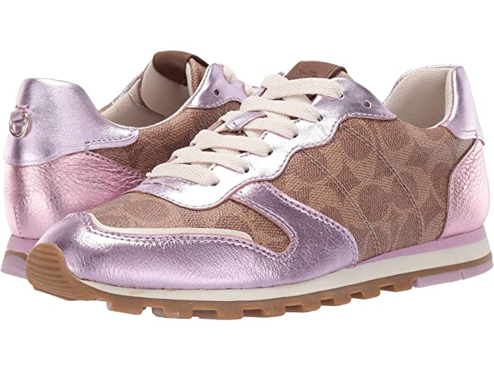 COACH C118 Runner with Signature Coated