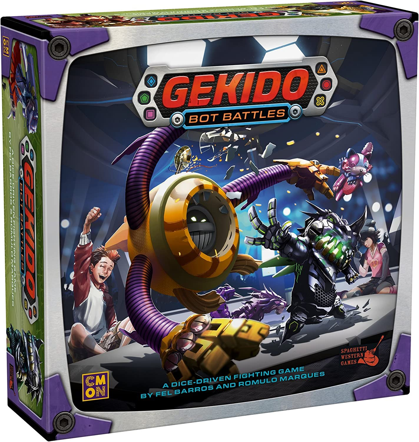 CoolMiniOrNot CMNGEK001 Gekido Bot Battles, Multicoloured