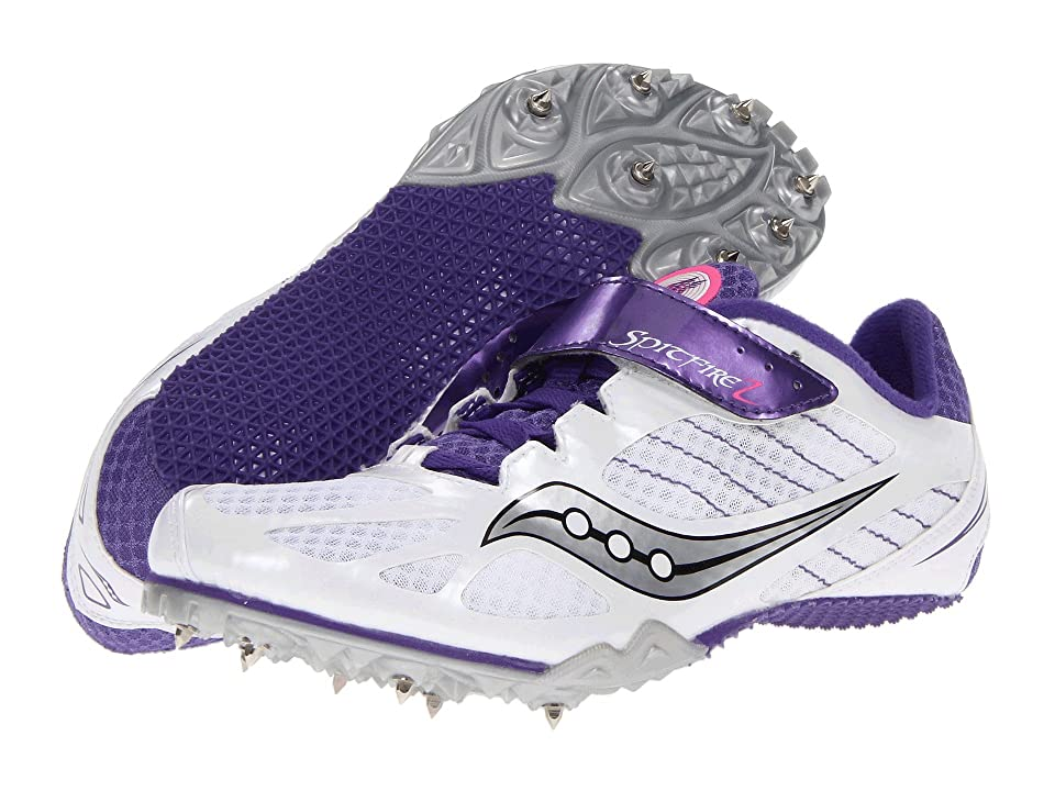 Saucony Spitfire 2 (White/Purple) Women