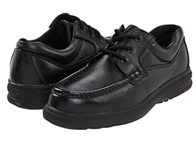 Hush Puppies Gus (Black Leather) Men