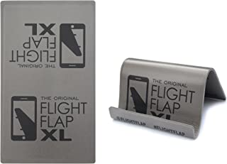 Flight Flap Phone & Tablet Holder, Designed for Air Travel - Flying, Traveling, in-Flight Stand for iPhone, Android and Kindle Mobile Devices (XL)