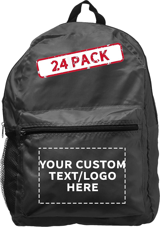 Custom favorite Simple Functional Kids BackPacks - 24 Genuine Free Shipping Personalized Pack