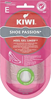 Kiwi Shoe Passion Retro Tallone Solette Donna in Gel Invisibile e Antiscivolo per Tacchi, Cuscinetto Ammortizante, 1 Paio