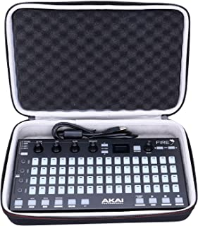 LTGEM EVA Hard Case for Akai Professional Fire   FL Studio Performance Controller with Plug-And-Play USB Connectivity