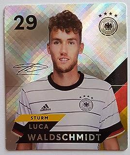 Rewe EM 2020 DFB - Sammelkarten - Glitzer - Luca Waldschmidt