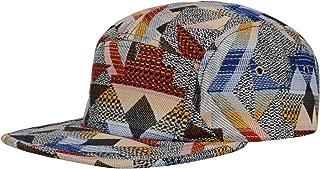 Pattern Multi Color Stripe 5 Panel Hat