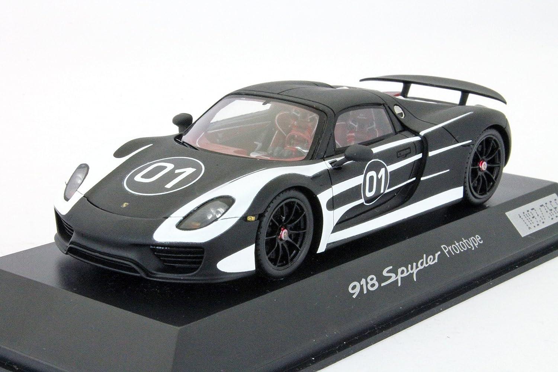 Spark Porsche 918 Spyder Prototype  01 Bj. 2012 schwarz   weiß 1 43 B00H3JZN9O Der neueste Stil  | Up-to-date Styling