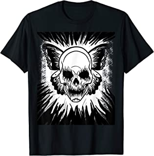 Skull Butterfly Hallowing Costume man women  T-Shirt