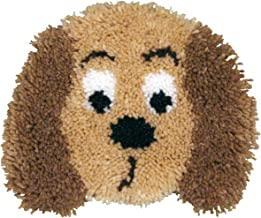 MCG Textiles Huggables Animal Puppy Pillow Latch Hook Kit