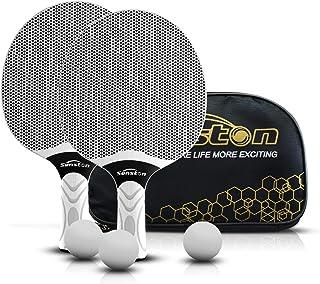 Senston Table Tennis Rackets Set, Professional Table Tennis Racket, Composite Rubber Ping Pong Paddle Set