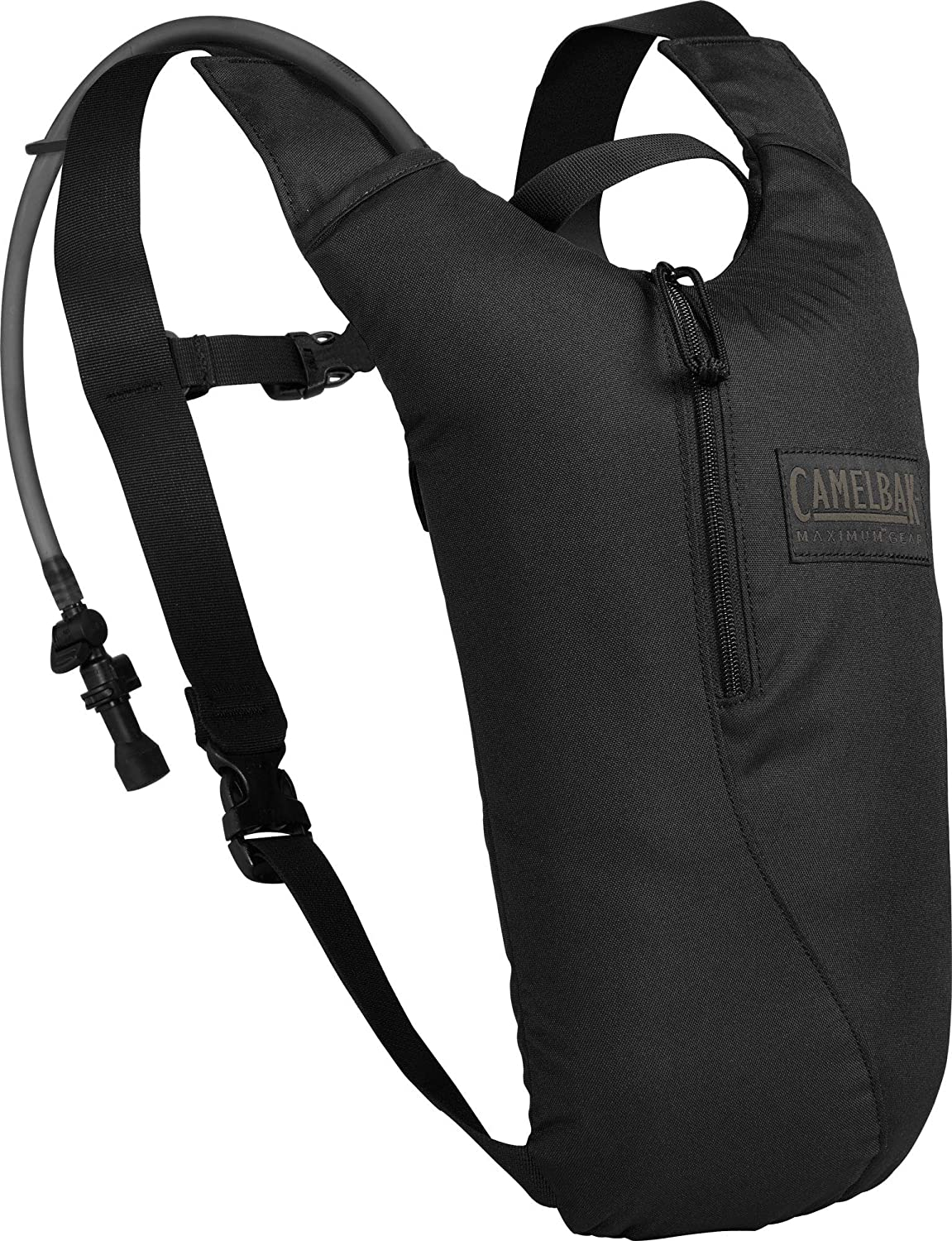 CamelBak Sabre, Black, with 85oz (2.5L) Mil-Spec Crux Reservoir