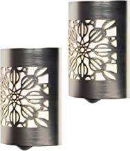 GE CoverLite LED Night Light, 2 Pack, Plug-in, Dusk to Dawn Sensor, Home Decor, UL-Listed, Ideal for Kitchen, Bathroom, Be...