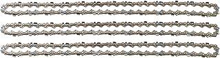 """3 tallox cadenas de sierra 3/8"""" 1,3 mm 56 eslabones 40 cm compatible con Oregon Dollmar Einhell Makita Black & Decker y otras"""