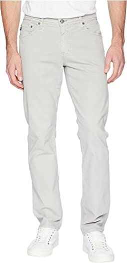 Graduate Tailored Leg Sueded Pants in Sulfur Pebble Beach