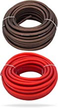 InstallGear 10 Gauge 25ft Black and 25ft Red Power/Ground Wire True Spec and Soft Touch Cable