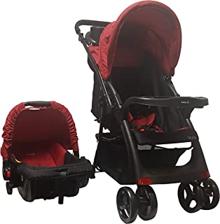 Carriola Sistema de Viaje Deluxe Light Safety 1st, Rojo