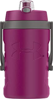 Under Armour Sideline 64 Ounce Sports Water Jug, Cherry