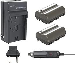 Bonacell BP-511 Battery(2200mAh 2-Pack) and Charger Kit Compatible with Canon EOS 5D, 50D, 40D, 20D, 30D, 10D, Digital Rebel 1D, D60, 300D, D30, Kiss Powershot G5, Pro 1, G2, G3, G6, G1, Pro90