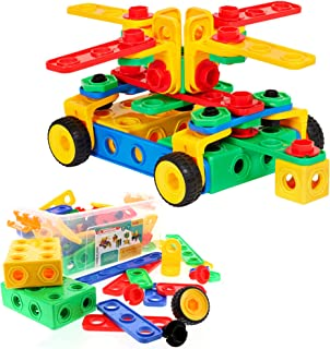 ETI Toys | STEM Learning | Original 101 Piece Educational Construction Engineering Building...