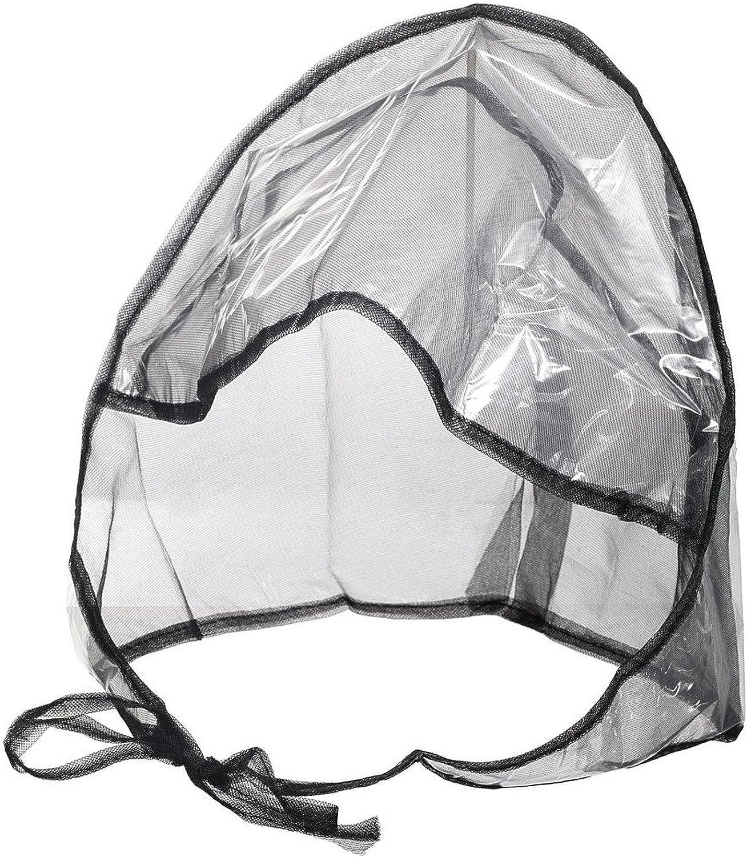 Waterproof Rain Bonnet Hat w Full Cut Visor & Netting for Men/Women (Unisex)