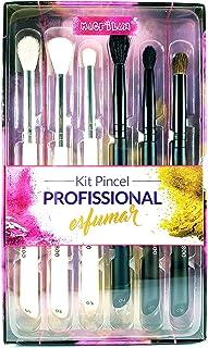 Kit Pincel Profissional Para Esfumar Macrilan Wb800
