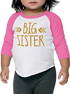 Bump and Beyond Designs Big Sister Shirt Pregnancy Announcement Photo Prop Big Sister Outfit