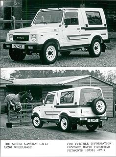 Fotomax Foto Vintage de Suzuki Automobile Company (Suzuki Samurai)