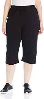 Champion Women's Plus-Size Jersey Capri