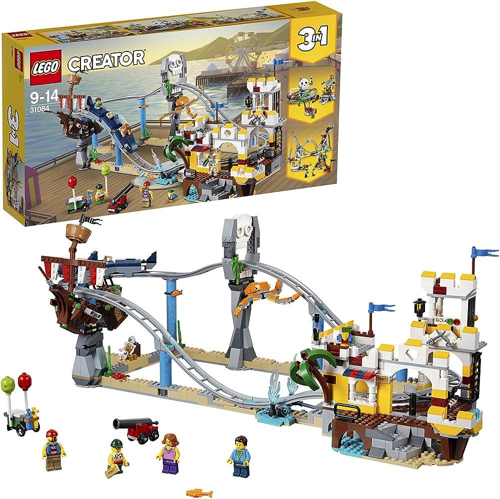 Lego- creator montagne russe dei pirati 31084