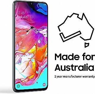 Samsung Galaxy A70 128GB Smartphone (Australian Version) with 2 Year Manufacturer Warranty, Black