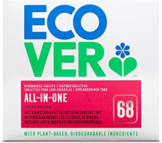 Ecover All in One Dishwasher Tablets 70s