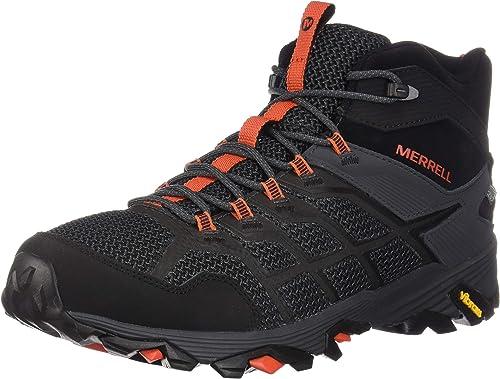 Merrell Men& 039;s Moab FST 2 Mid Waterproof Hiking schuhe,